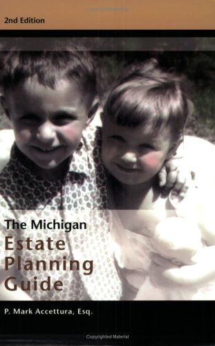 9780966927825: The Michigan Estate Planning Guide, 2nd Edition