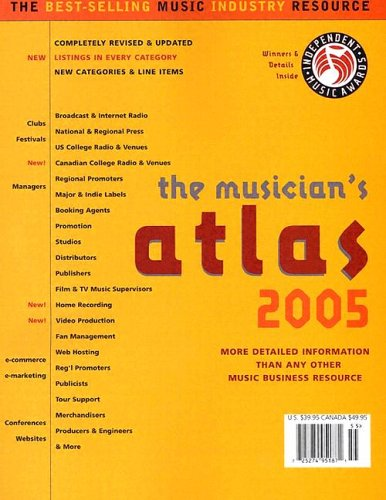 9780966936858: The Musician's Atlas