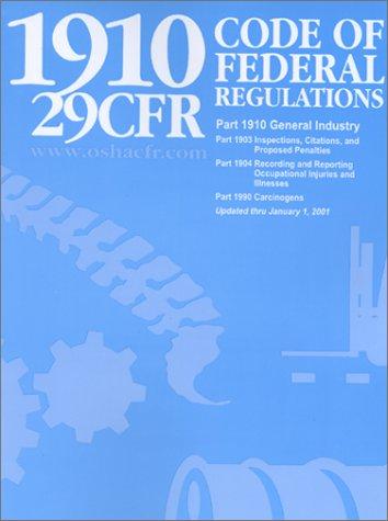 29CFR 1910 The OSHA General Industry Standards: Mangan Communications