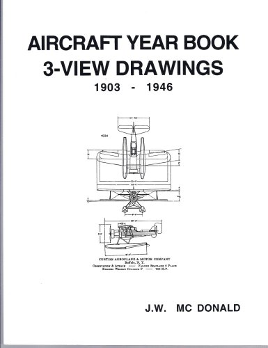 9780966999600: Aircraft Yearbook 3-View Drawings 1903-1946