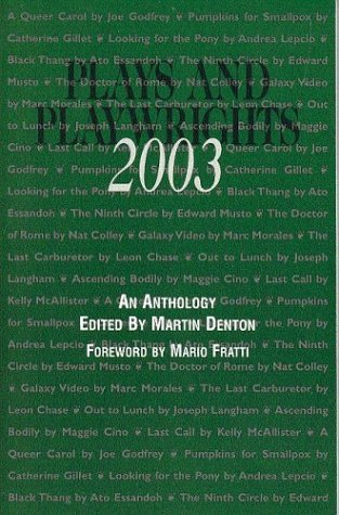 9780967023441: Plays and Playwrights 2003
