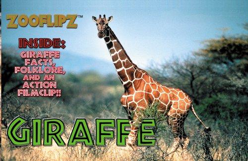 Flipworkz flipbooks: 4 x Giraffe: Flipworkz
