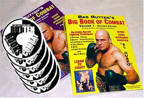 9780967043050: Bas Rutten's Big Book of Combat, Vols. 1 & 2 PLUS CDs!