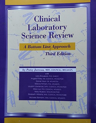 9780967043418: Clinical Laboratory Science Review: A Bottom Line Approach