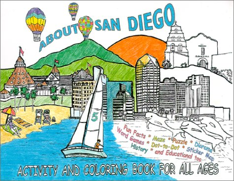 9780967061269: About San Diego Activity And Coloring Book For All Ages