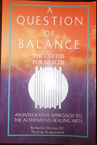 9780967076102: A Question of Balance
