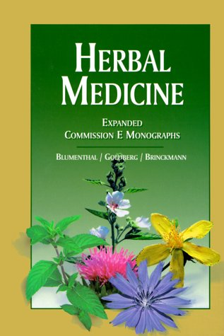 9780967077215: Herbal Medicine: Expanded E Monographs : Herb Monographs, Based on Those Created by a Speical Expert Committee of the German Federal Insitiute for Drugs and Medical de
