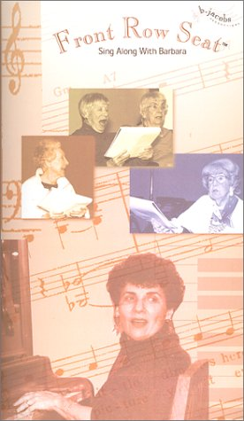 9780967082400: Front Row Seat - A Sing-Along Video for Older Seniors and Alzheimer's Patients [VHS]