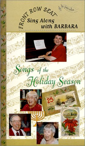9780967082417: Front Row Seat - Sing-Along with Barbara - Songs of the Holiday Season [VHS]