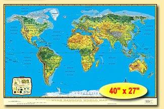 9780967088907: World, Terrain, Compact Edition, 40x27