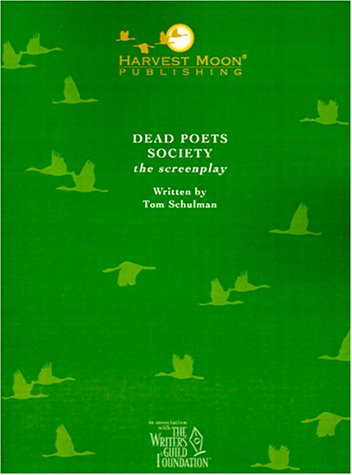 9780967134505: Dead Poets Society (The Script Publishing Project)