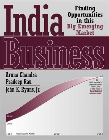 India Business : Finding Opportunities in This: Aruna Chandra; Pradeep