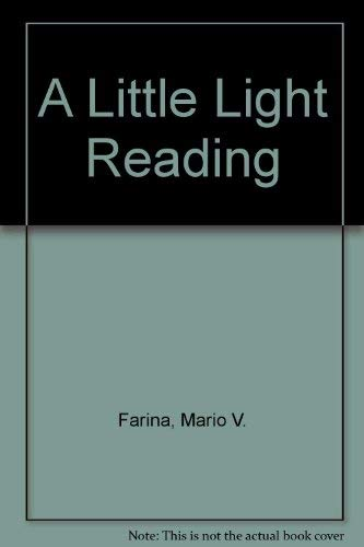 9780967144009: A Little Light Reading