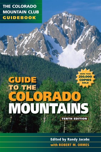 9780967146607: Guide to the Colorado Mountains
