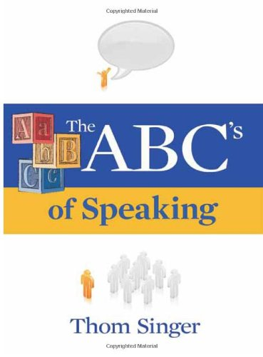 9780967156569: The ABC's of Speaking (Airplane Books (New Year Publishing))