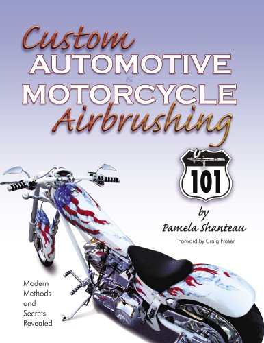 9780967164311: Custom Automotive & Motorcycle Airbrushing 101