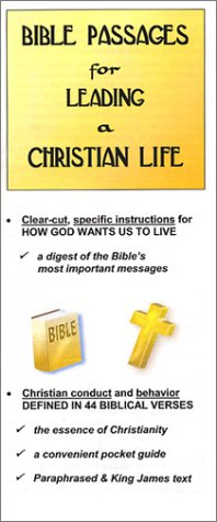 9780967167732: Bible Passages for Leading a Christian Life
