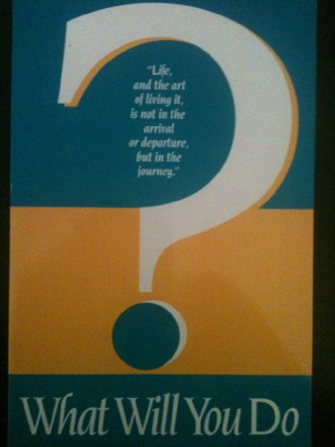 What Will You Do?: Barsi, Agi