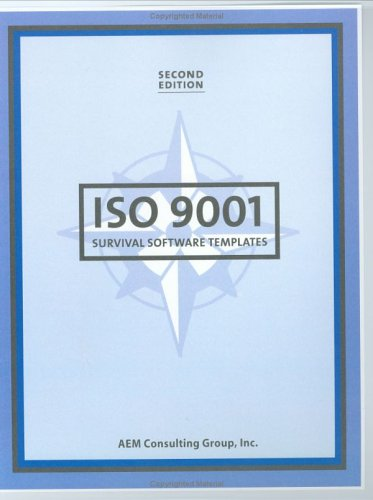 9780967217031: ISO 9001 Survival Software Templates