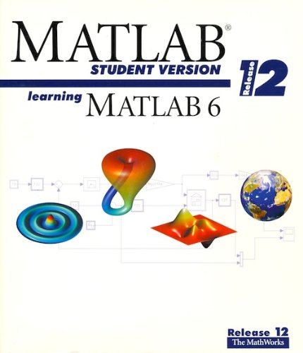 9780967219530: Learning Matlab 6, Release 12, Matlab Student Version
