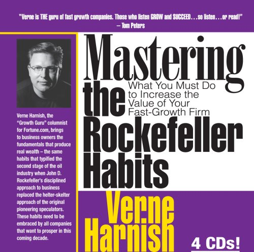9780967285542: Mastering the Rockefeller Habits: What You Must Do to Increase the Value of Your Growing Firm