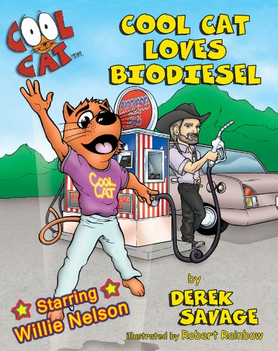 9780967300030: Cool Cat Loves Biodiesel (English and Spanish Edition)