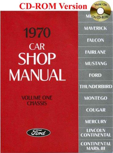 1970 Car Shop Manual (Volume I-V): Ford Motor Company