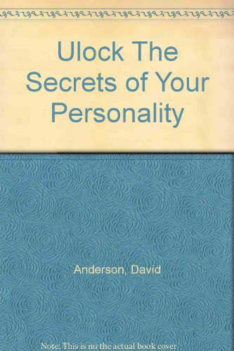 9780967335407: Ulock The Secrets of Your Personality