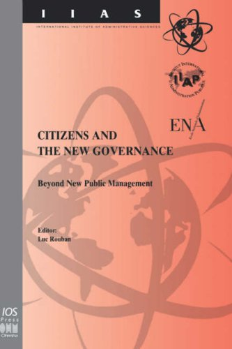 Citizens and the New Governance - Beyond New Public Management (Studies in Health Technology and ...