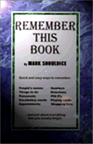 9780967346601: Remember this book