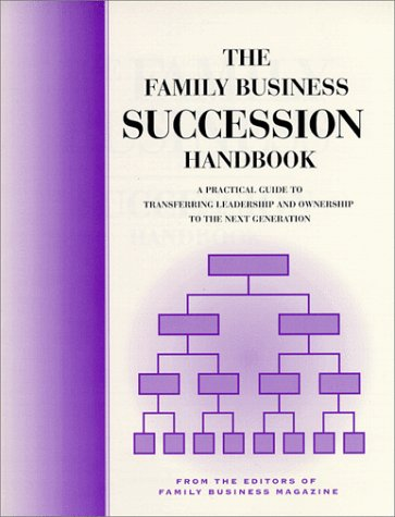 9780967374512: The Family Business Succession Handbook