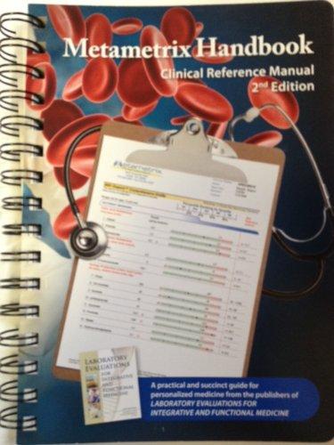 9780967394978: Metametrix Handbook Clinical Reference Manual 2nd Edition