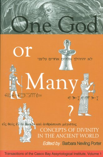 9780967425009: One God or Many? Concepts of Divinity in the Ancient World (Transactions of the Casco Bay Assyriological Institute, 1)