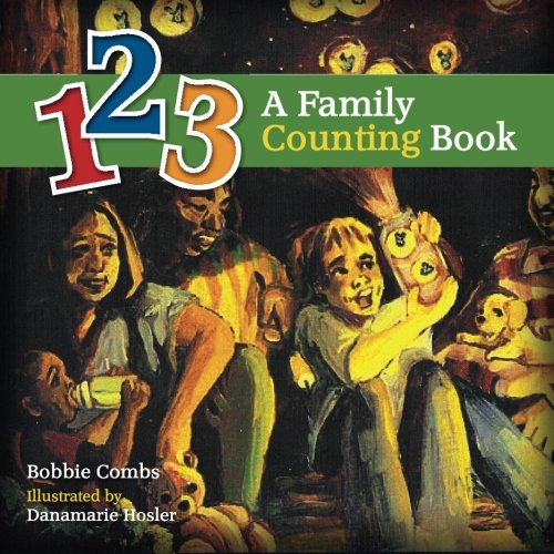9780967446806: 123 A Family Counting Book
