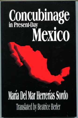 Concubinage in Present-Day Mexico: Sordo, Mar?a Del
