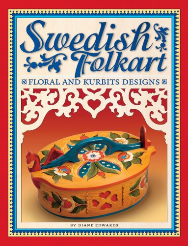 Swedish Folk Art: Floral and Kurbits Designs: Diane Edwards
