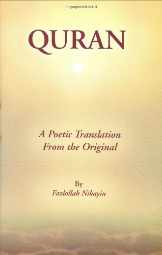 9780967473208: Quran : A Poetic Translation