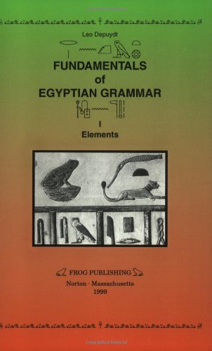 9780967475103: Fundamentals of Egyptian Grammar: Elements