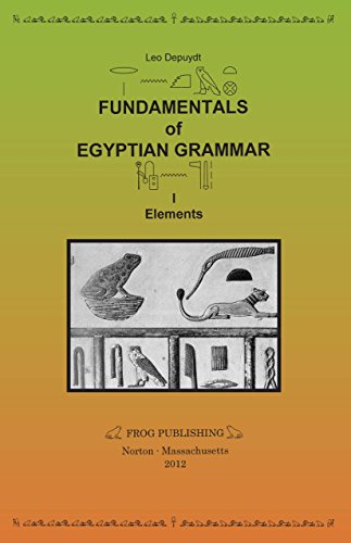 9780967475110: Fundamentals of Egyptian Grammar, I: Elements (reprint with Minor Additions and Corrections)