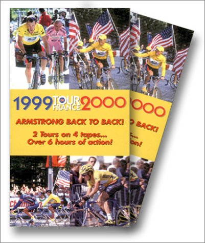 9780967500430: Lance Armstrong Back to Back 1999/2000 Tour de France [VHS]