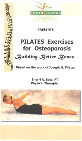 9780967515212: Pilates Exercises for Osteoporosis [VHS]