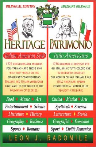 9780967532912: Heritage Italian-American Style Bilingual (2nd Edition)