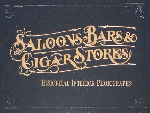 9780967548104: Saloons Bars and Cigar Stores