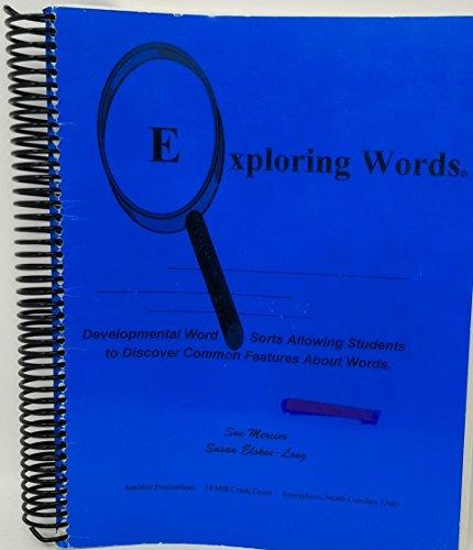 Exploring words: Sue Mercier