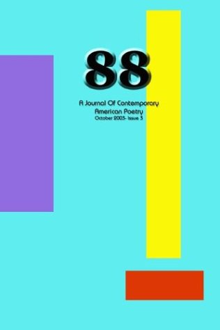 9780967600376: 88: A Journal of Contemporary American Poetry (Issue 3)