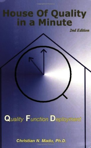 9780967602363: House of Quality in a Minute: Quality Function Deployment