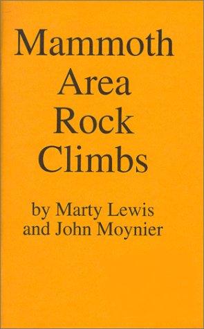 9780967611631: Mammoth Area Rock Climbs