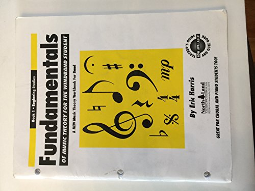 9780967615707: Fundamentals of Music Theory for the Windband Student Book 1