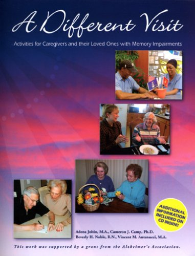 9780967634333: A Different Visit: Activities for Caregivers and their Loved Ones with Memory Impariments