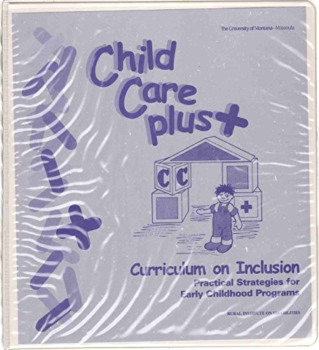 9780967679907: Child Care Plus+ Curriculum on Inclusion: Practical Strategies for Early Childhood Programs